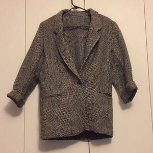 Vintage 100% wool blazer